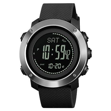 ChenHui Nuevos Deportes al Aire Libre Relojes Burro Amigo Altura compás medidor Paso cronómetro Alarma electrónica