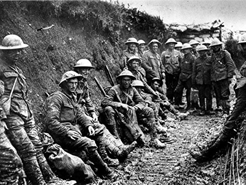(Gifts Delight Laminated 28x21 Poster WW1 Trench Warfare)