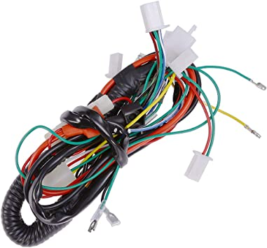 Amazon.com: Full Electric Wire Wiring Harness For 50cc 70cc 90cc 110cc  125cc Chinese ATV UTV Quad 4 Wheeler Go Kart Taotao Lifan: AutomotiveAmazon.com