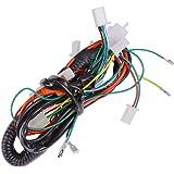 full electric wire wiring harness for 50cc 70cc 90cc 110cc 125cc chinese atv  utv quad 4