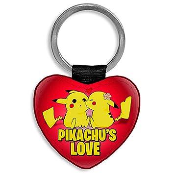 Diver Bebé Llavero corazón Personalizable con Nombre Pikachu ...
