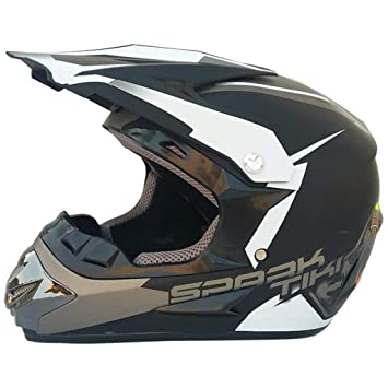 HHQ Casco de moto casco de carretera cuatro estaciones casco de cross-country para hombre