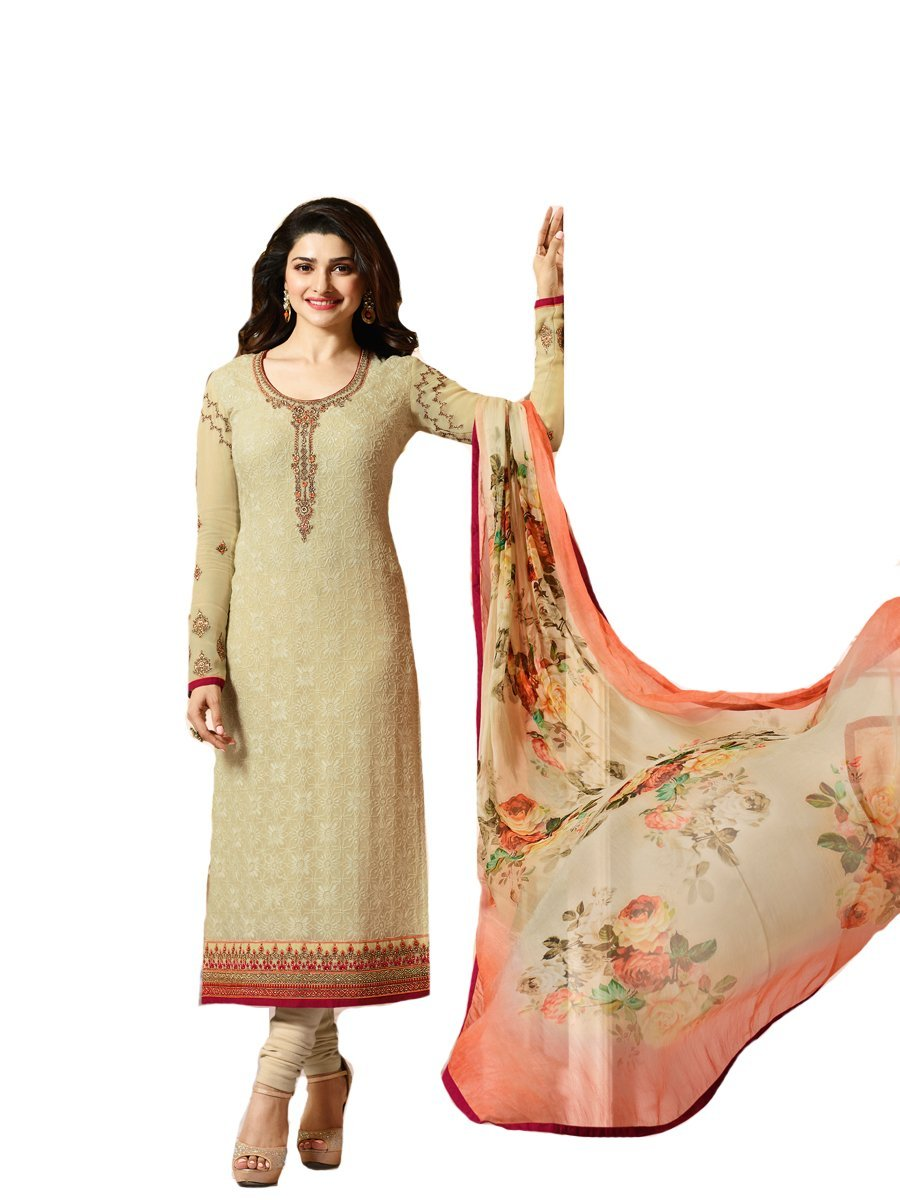 Ready Made Designer Indian Wear Straight Salwar Kameez Party Wear Timeless (Beinge, LARGE-42)