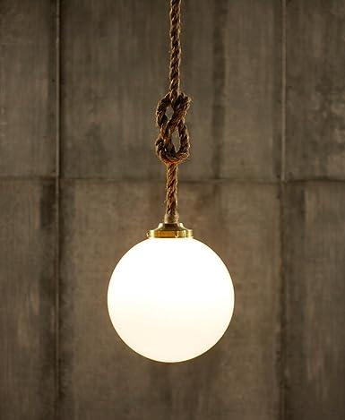 Lámpara de techo PureLumeTM Vintage cuerda bolas de Edison ...