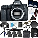 Canon EOS 6D Mark II DSLR Camera (Body Only) 26.2MP Full-Frame International Version (No Warranty) Gold Level Bundle