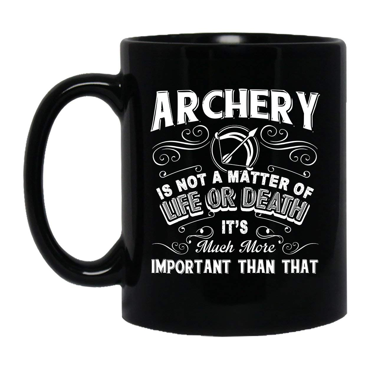 3ac2c1f6b91 Amazon.com: Cool It's Not A Matter Of Life Or Death Coffee Cup ...