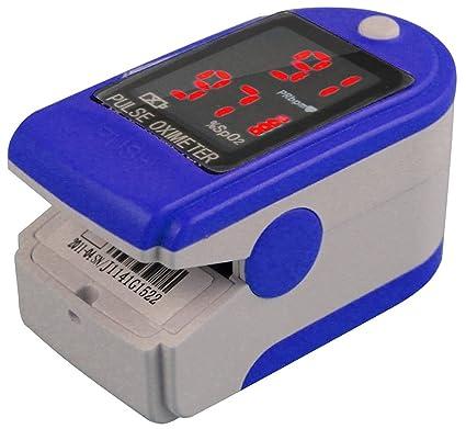 fingerpulsoximeter cms de 50 DL Medidor de frecuencia cardíaca Pulso Medición de saturación de oxígeno con