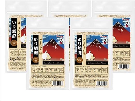 マコト ガーリック味 いり胡麻 50g ×10個