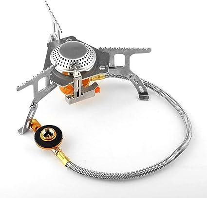 Cocina de cámping gas a prueba de viento grande de la energía ...