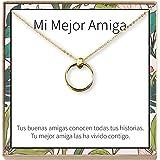 Amazon.com: Dear Ava Collar Regalo para Amiga: Joyería ...