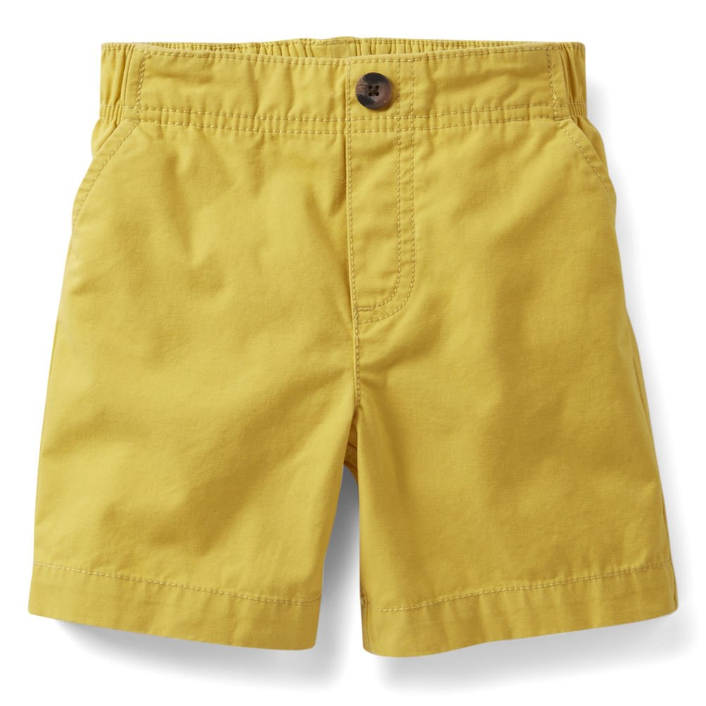 Carters Baby Girls Yellow Twill Shorts 3 months