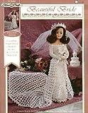 img - for Beautiful Bride, #FCM468, Fibre Crafts (Crochet an elegant bridal ensemble for the 14.5