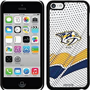Coveroo iPhone 5 5s Black Thinshield Snap-On Case with Nashville Predators Away Jersey Design