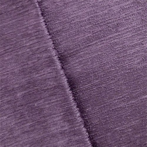 Dusty Purple Amethyst Empress Chenille Strie Velvet Home Decorating Fabric, Fabric By the (Amethyst Fabric)