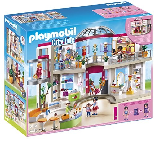 PLAYMOBIL Furnished Shopping Mall - Mall Kids Shopping