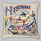 Catstudio Nantucket Pillow - Geography Collection Home Décor 078(CS)