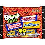 Nestle Halloween Chocolate Boo Bag 60 pieces, 38 Ounce