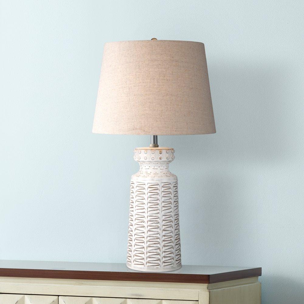 Helene White Ceramic Table Lamp - - Amazon.com