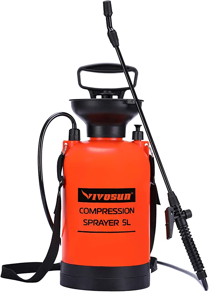VIVOSUN Compression Sprayer - Best Compression Sprayer For Horticulture and Animal Spray
