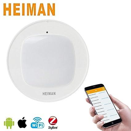 Zigbee - Sensor de movimiento inteligente, detección de movimiento seguro para el hogar (HS3MS