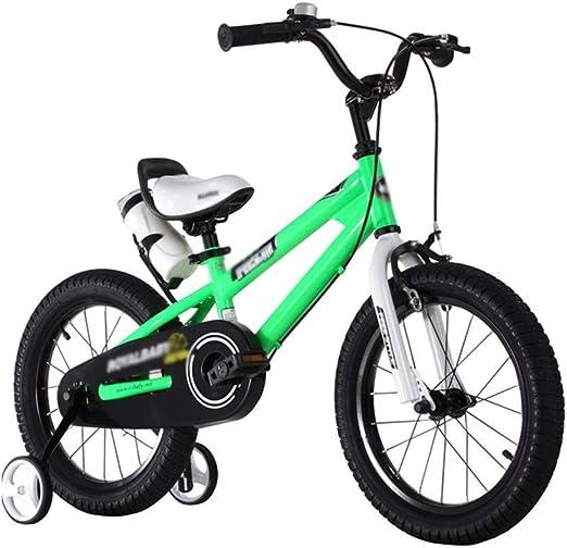Bicicletas Bicicleta para Niños con Rueda Auxiliar Triciclo ...