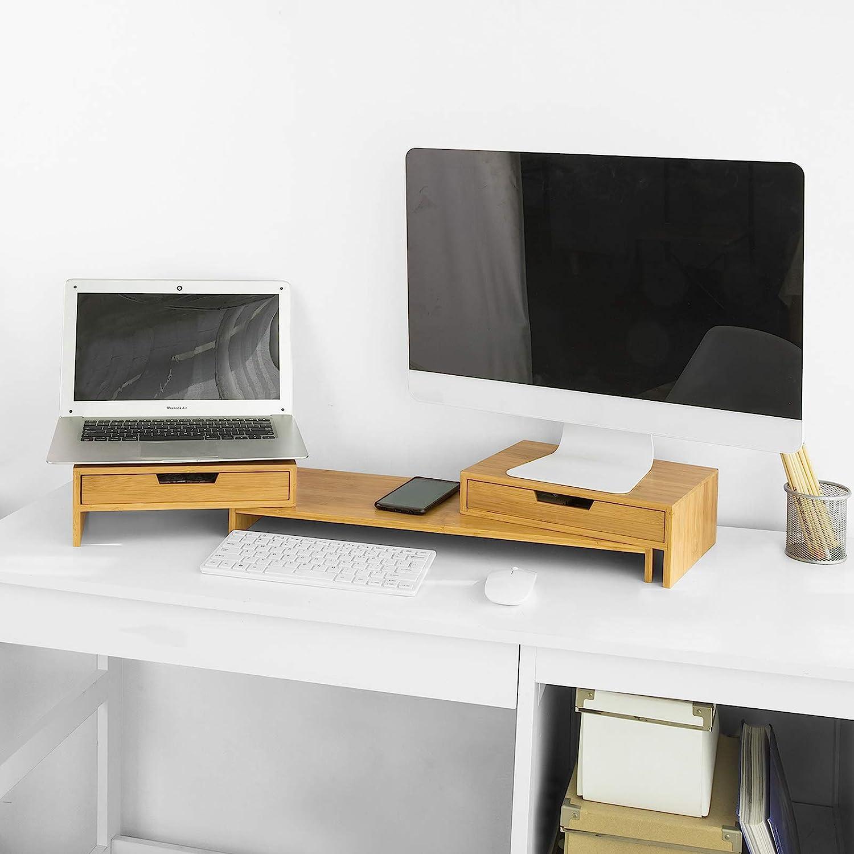 SoBuy BBF9-N Design Monitorerhöhung für 9 Monitore: Amazon.de