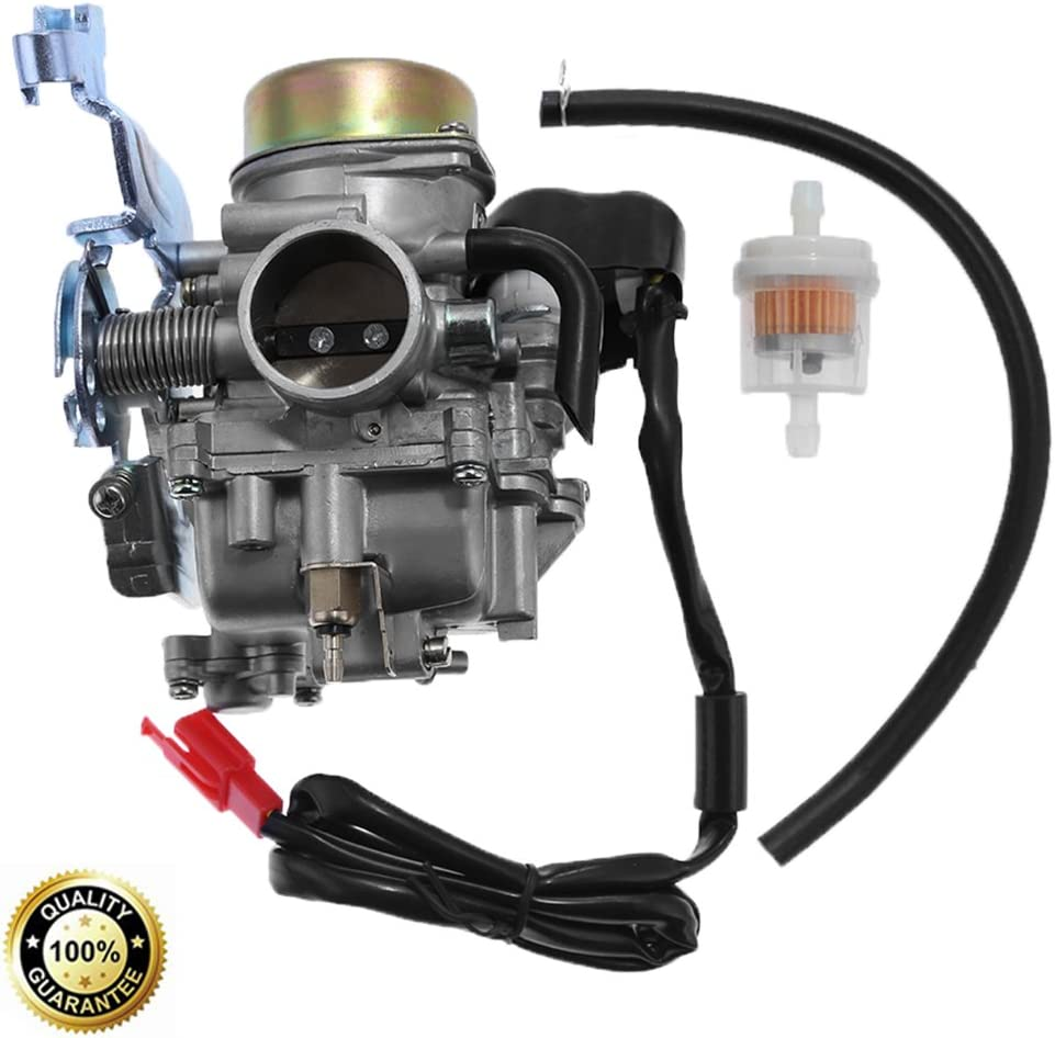 talon manco atv wiring diagram amazon com carburetor assembly for manco talon linhai bighorn  manco talon linhai bighorn