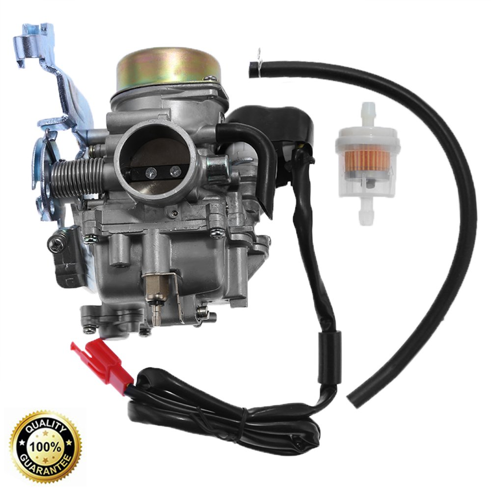 carburetor assembly for manco talon linhai bighorn 260cc 300cc off road atv utv carb four wheeler chinese 110cc atv wiring diagram coil magneto stator pick up manco