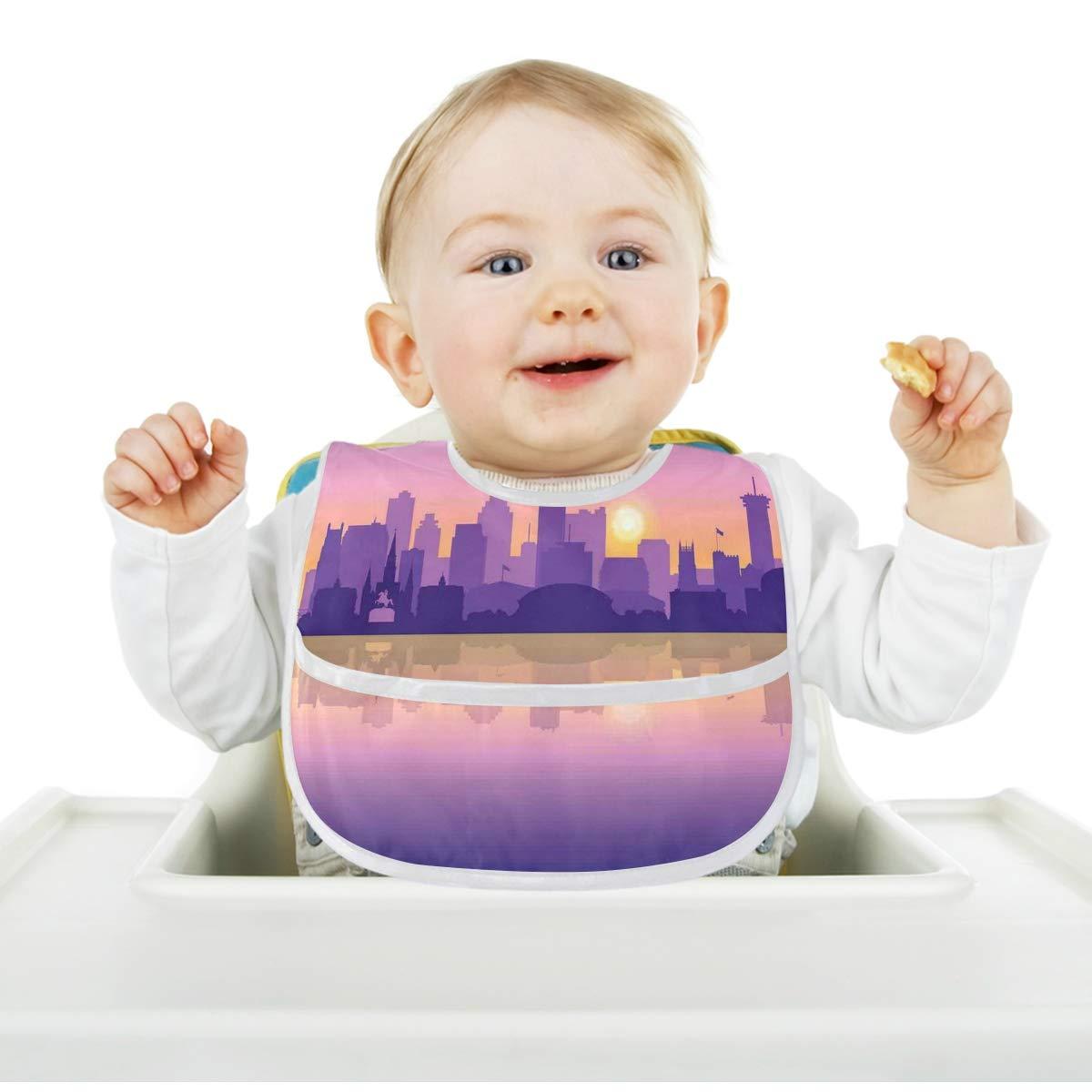spit happens Unisex Saliva Baby Bibs washable reusable