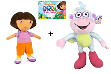 Dora la Exploradora - Peluche Dora Exploradora con mochila 33cm + ...