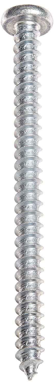 Pack of 50 Type A Pan Head Small Parts 1248APP 3 Length Steel Sheet Metal Screw #12-11 Thread Size 3 Length Pack of 50 Phillips Drive Zinc Plated
