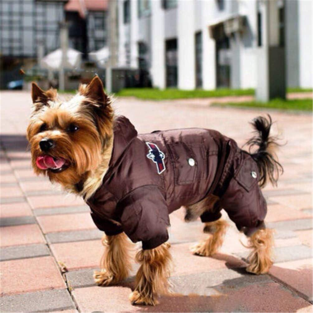 Feidaeu Warme Hundebekleidung Camouflage Winter Wasserdichte Hund Jacke Mode f/ür Chihuahua Kleine Gro?e Hunde Mantel