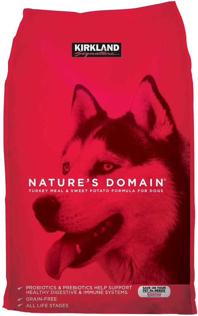 Kirklans Signature Nature'S Domain Turkey Dog Food, 35 Lb
