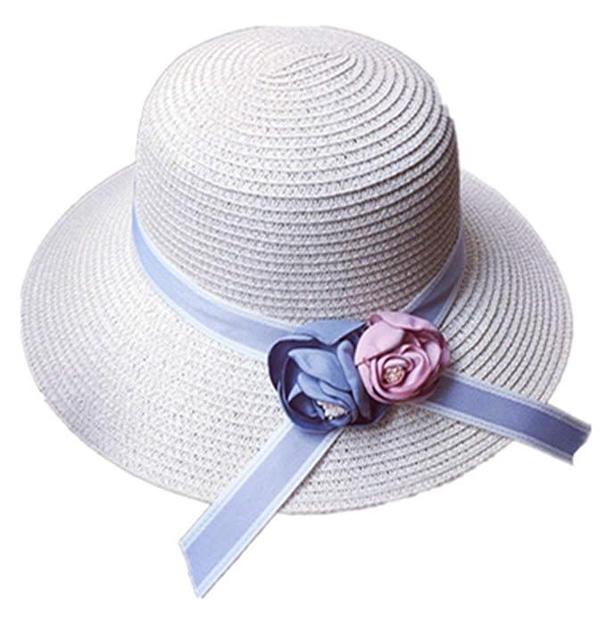 Beanie Sombrero De Paja De Sombrero Verano Sombrero De Modernas Casual  Cosecha Sombrero De Playa Sombrero De Tela Sombrero De Sol Clásico Unisex  Flores ... a111d7bd388