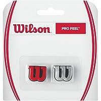 Wilson Pro Feel logolu titreşim sönümleyici, tenis raketi için, 2'li paket