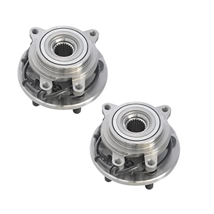 Wheel ABS Sensor Driver /& Passenger Side Pair Rear for Land Rover Discovery