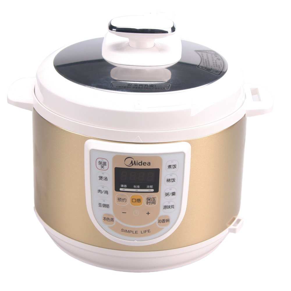美的电压力锅怎么样_midea美的电压力锅w13pcs503e(3大烹饪技术,本色蒸,源