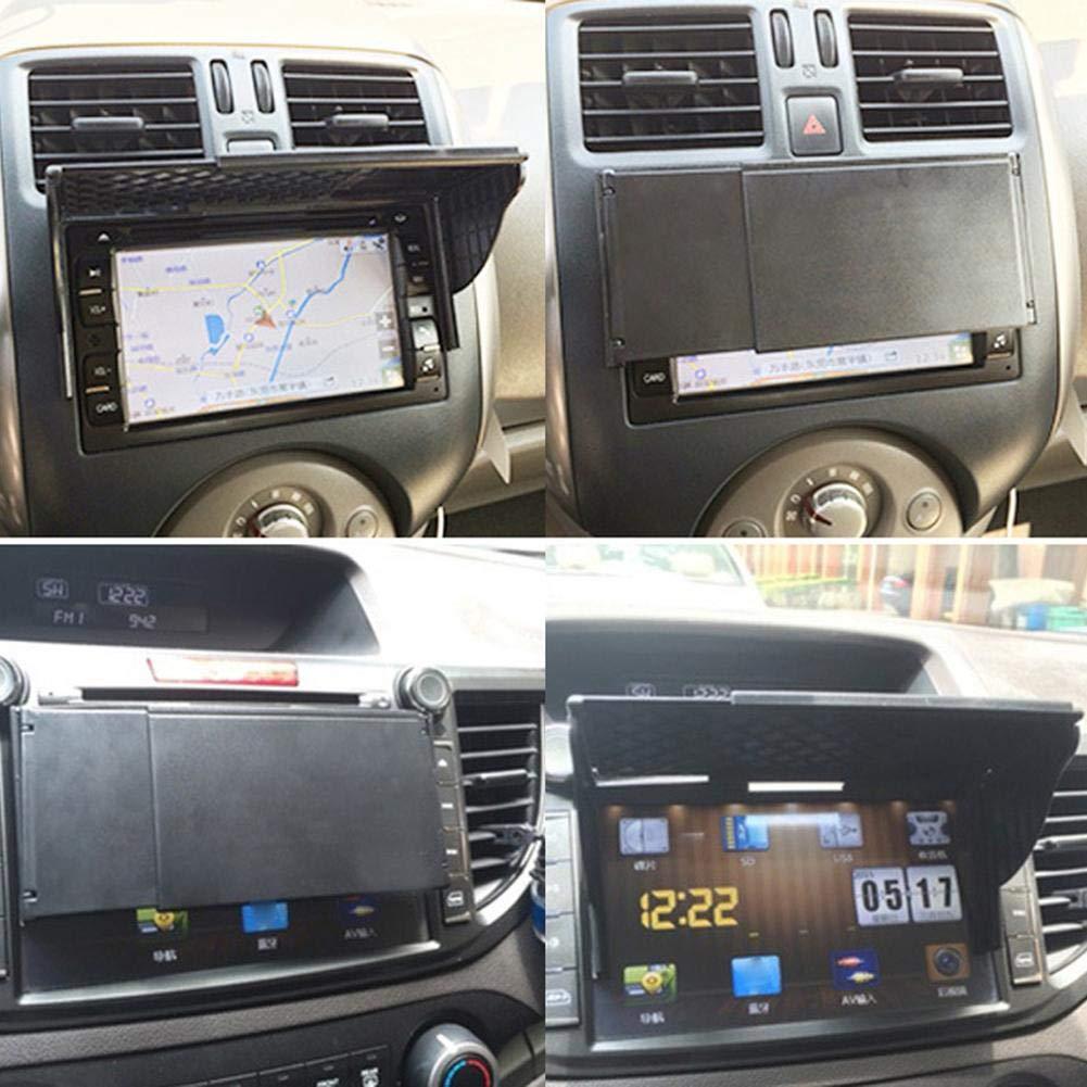 fervory Navigator Sun Visor Car 5.5-10 Inch Universal Car GPS Navigator Sunshade Sunshade