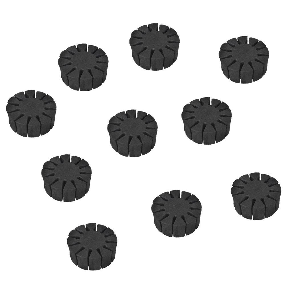 MagiDeal 10pcs Eva Espuma 12 Flechas Separador Rack Titular Conjunto Accesorios de Tiro