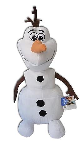 Olaf 30cm Muñeco de Nieve Peluche Pelicula Frozen Amigo Elsa Ana Alta Calidad Blanco Walt Disney