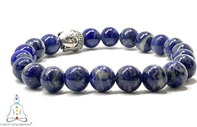 4335f94bbc037 Buy know your crystals Lapis Lazuli Blue Crystal Round Beads ...