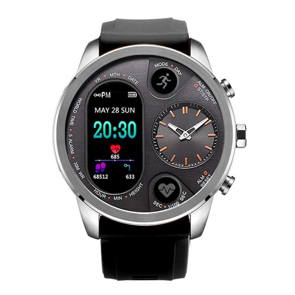 Amazon.com: OLIISS T3 Sports Hybrid Smart Watch Stainless ...