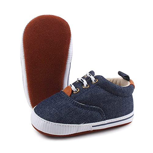 25f67a60b6b0f Amazon.com | OOSAKU Lace up Toddler Sneaker Baby Infant Shoes Boy ...