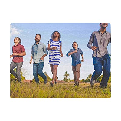 Custom Jigsaw Puzzle from Photos 252 Pieces, Personalized Pictures Puzzles for Adults Kids, Funny Novelty Gift for Men Women: Toys & Games