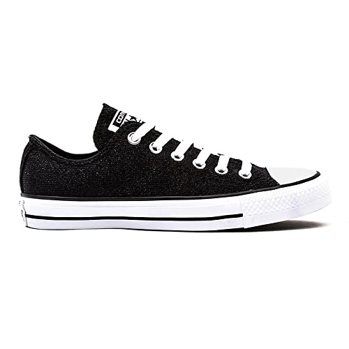CONVERSE womens CHUCK TAYLOR ALL STAR KNIT Black Low top trainers
