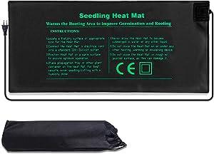 Waterproof Seedling Heat Mat 20.47x9.45in Plant Seed Germination Propagation Clone Starter Pad Warm Hydroponic Heating Pad Garden Supplies.