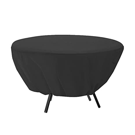 Amazon Com Mitef Waterproof Round Patio Table Cover Outdoor