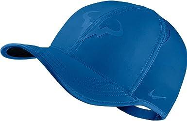 Nike Featherlight Cap Gorra de la línea Rafa Nadal, Hombre, Azul ...