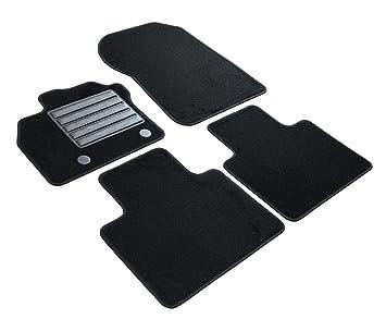 Velours Fußmatten Set für RENAULT ZOE 2013-4teilig Matten Autoteppiche