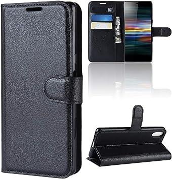 Funda para Sony Xperia L3 Case Flip Cover Cartera con Ranura para ...